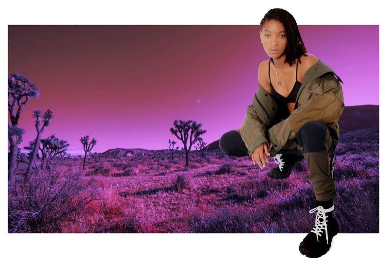 Willow Smith stars in Onitsuka Tiger fall-winter 2020 campaign.