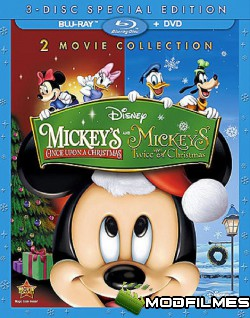 Capa do Filme Aconteceu De Novo No Natal Do Mickey