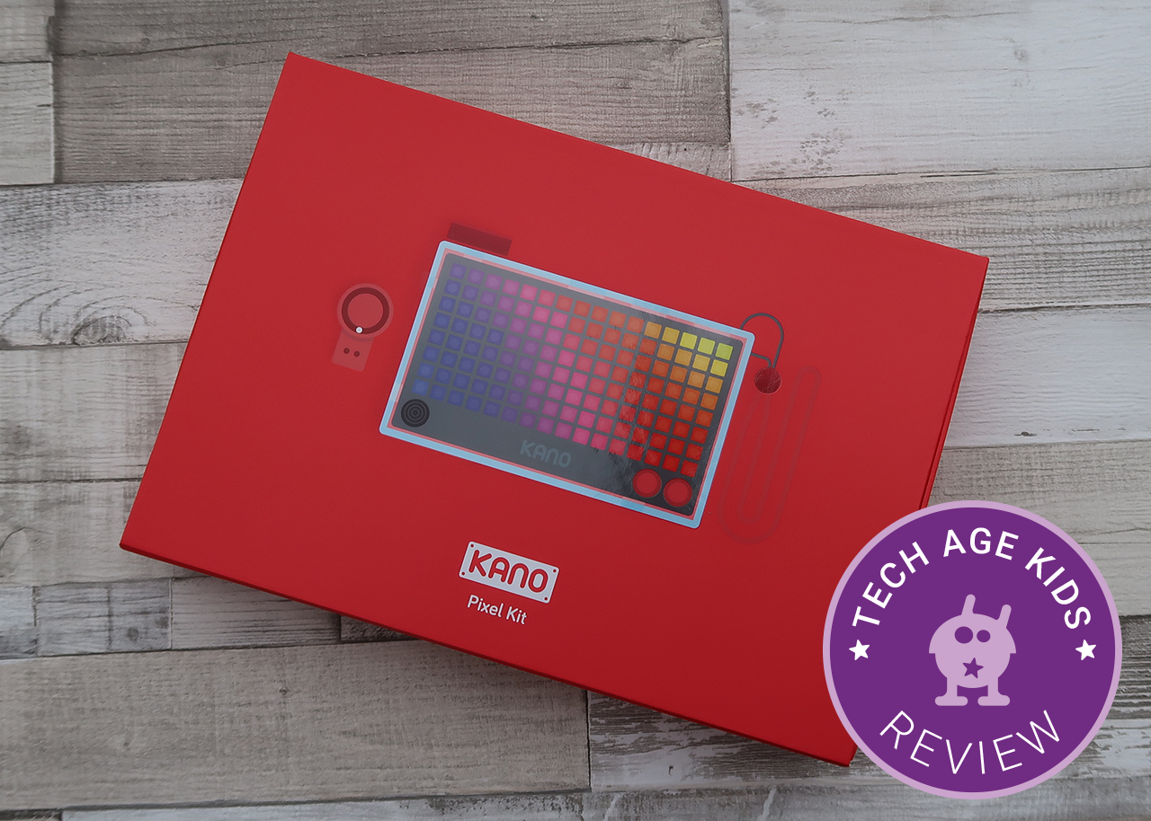 Kano Pixel Kit Circuit Scribe Kickstarter The Is A Programmable 8 X 16 Grid Of Rgb Pixels And More We Backed Campaign It Has Arrived