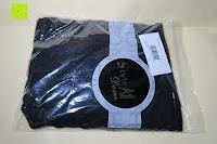 Verpackung: StyleDome Damen Spitze Langarm Kragen Runde Elastische Shirt Tops