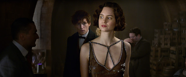 Fantastic Beasts and Where to Find Them Eddie Redmayne, Katherine Waterston