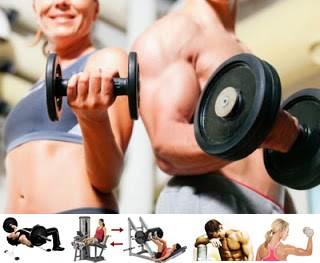 Ejercicios para aumentar la masa muscular en hombres y mujeres delgados