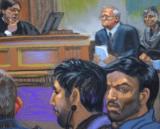 Los narcosobrinos dieron detalles del procedimiento de su detención