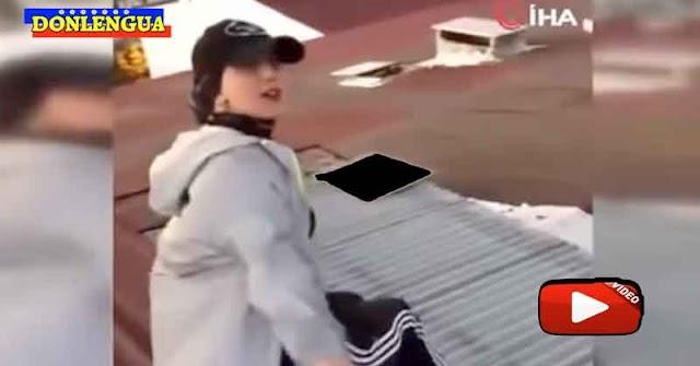 ATENCIÓN PADRES IRRESPONSABLES    Chica murió haciendo un video para TikTok tras caer 50 metros