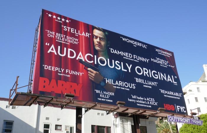 Barry HBO FYC Audaciously original billboard