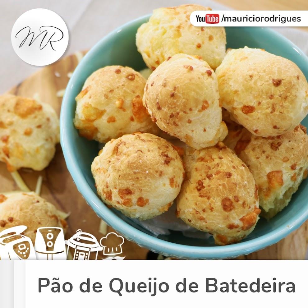 VÍDEO - Pão de Queijo de Batedeira!