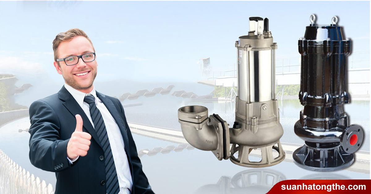 máy bơm chìm nước thải công suất lớn