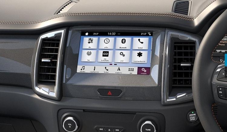 ford ranger wildtrak technology
