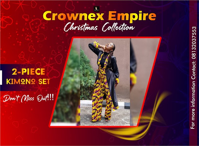 Why you should go for the Crownex Kimono Set