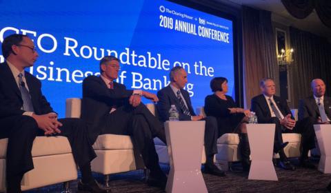 Table ronde de CEO à la conférence annuelle du Bank Policy Institute