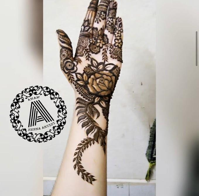 Khafif Henna Mehndi Designs - khafif henna mehndi designs pictures