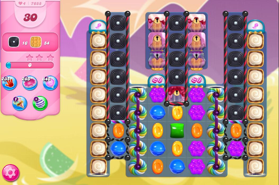 Candy Crush Saga level 7688