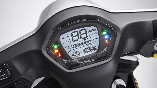 speedometer digital kymco nice 100 EV