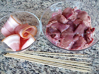Ficatei cu bacon ingrediente reteta