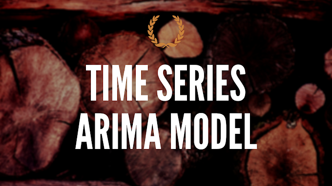 Time series ARIMA model