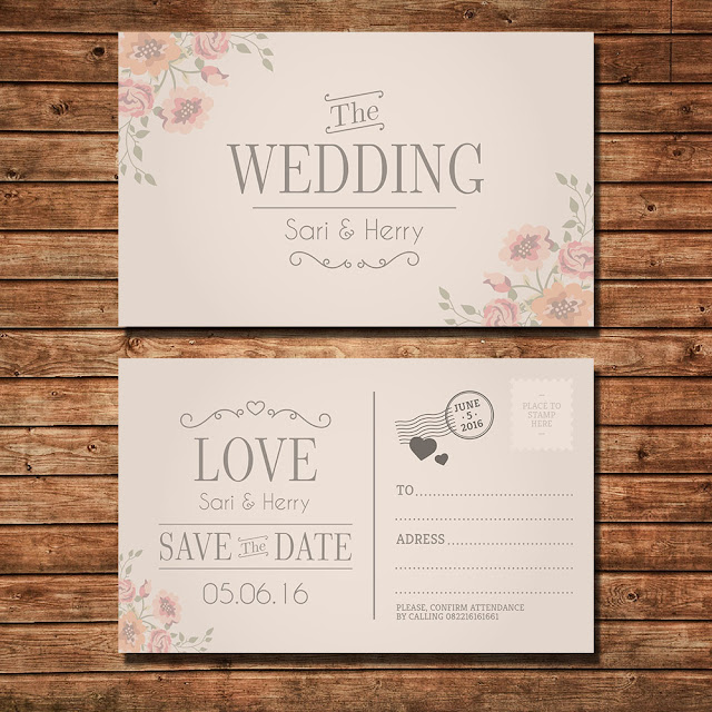 Cetak Undangan Untuk Pesta Pernikahan Anda