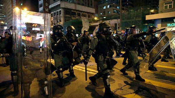 Al menos 20 detenidos deja nueva movilización Hong Kong