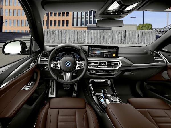 Novo BMW ix3 2022 elétrico