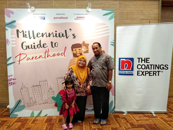 Pengalaman Menghadiri Bengkel Milennial's Guide To Parenthood di Sunway Medical Centre
