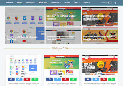LinkMagz Clasic Redesign Free Blogger Template