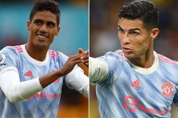 Raphael Varane dan Cristiano Ronaldo