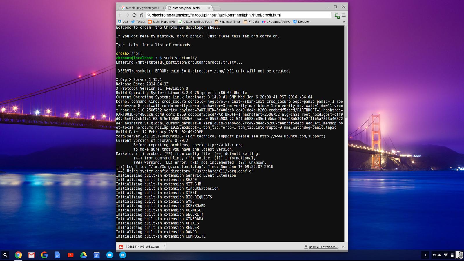 Stats, Maps n Pix: Running QGIS on a Chromebook