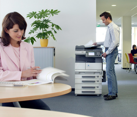 Pinters are suitable for the office