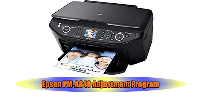 Epson PM-A840 Printer Adjustment Program