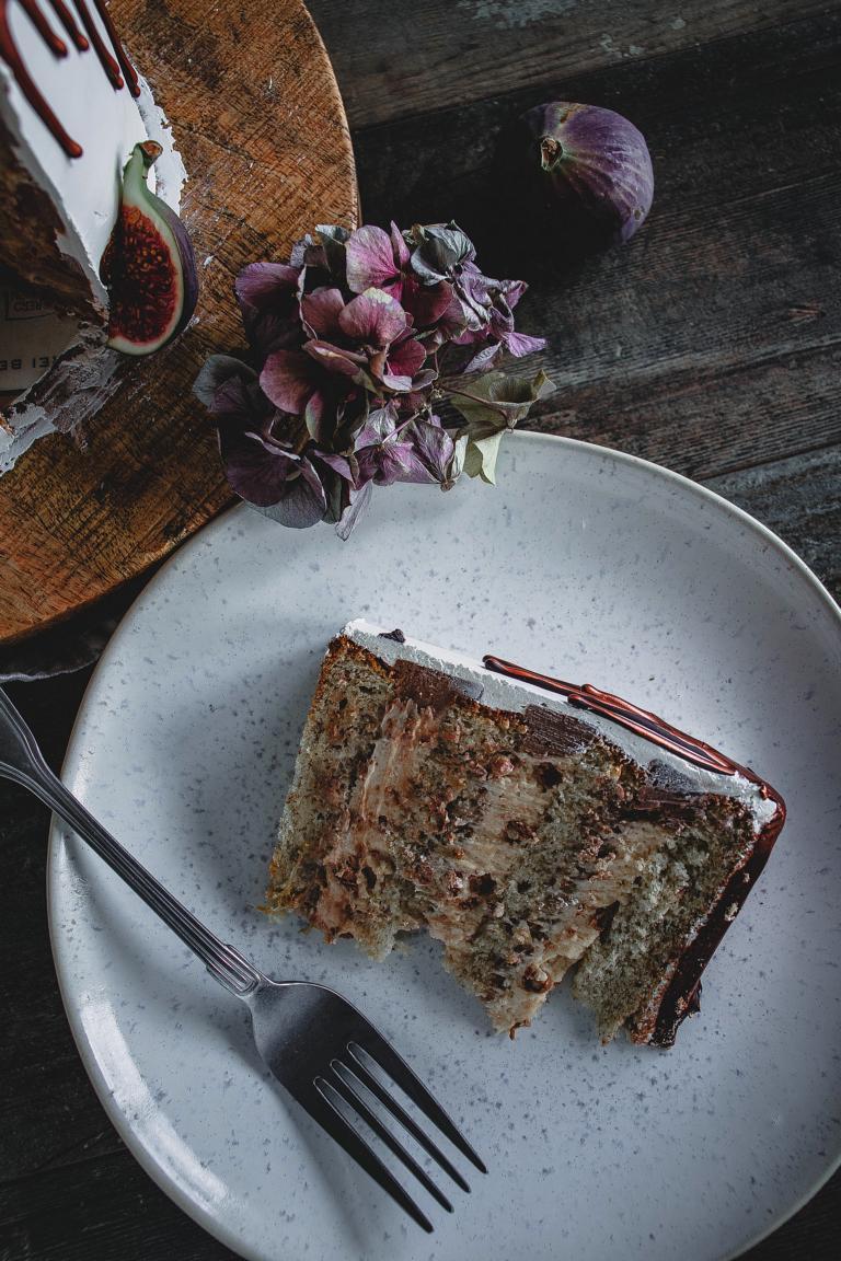 Ein Stück Torte
