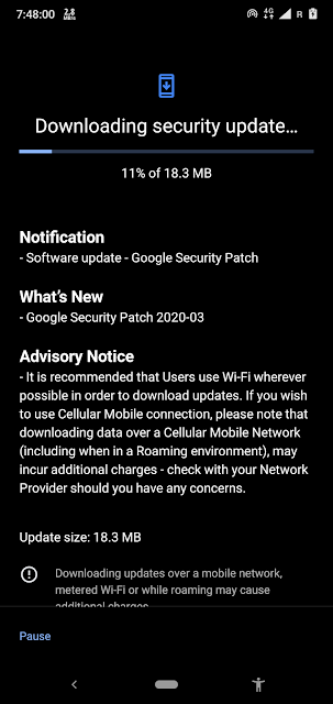 Nokia 6.1 Plus receiving March 2020 Android Security Patch