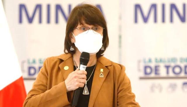No hay vacuna para niños, afirma ministra de Salud, Pilar Mazzetti
