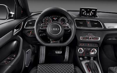 Audi Q3 Stearing wheel