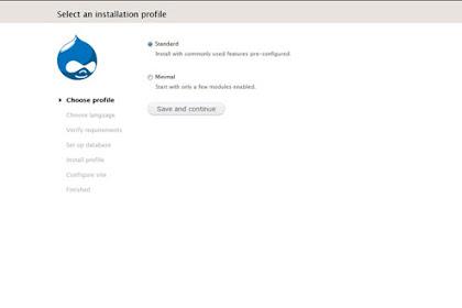 Tutorial Drupal : Instalasi Drupal 7 di Localhost Server