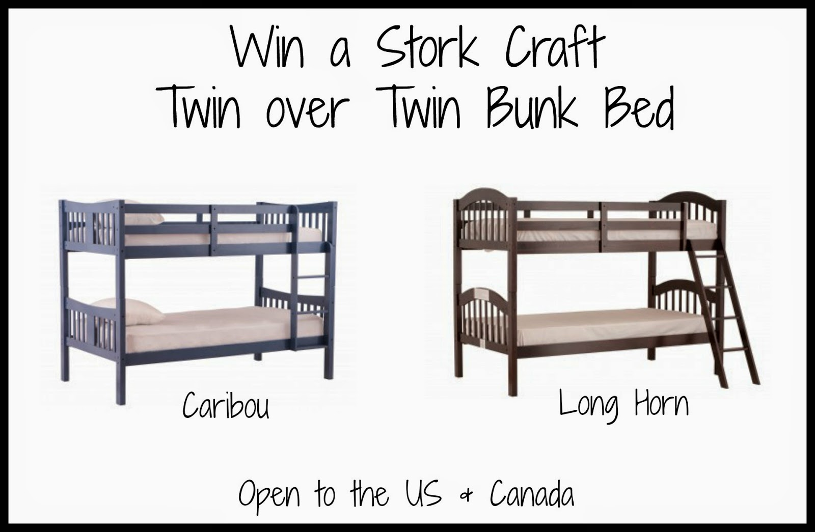 Simple Stork Craft Bunk Bed Giveaway
