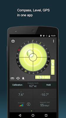 Compass Level & GPS افضل بوصلة للاندرويد