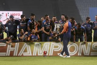 England tour of India 3-Match ODI Series 2021