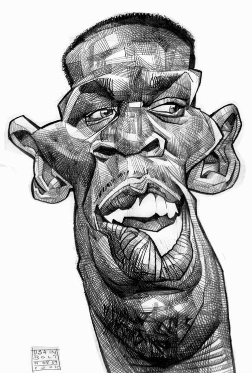 Usain Bolt por Russ Cook