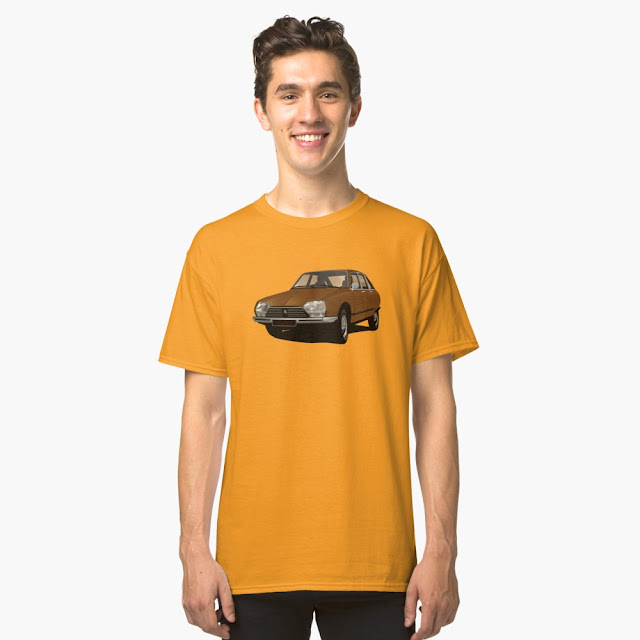 Citroën GS t-shirts