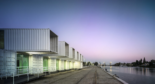 Shipping Container Cruise Terminal, Port of Seville, Spain 3