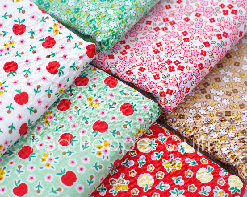 Apple Farm by Elea Lutz for Penny Rose Fabrics | Red Pepper Quilts 2016