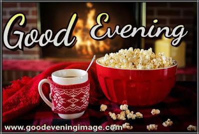 Good evening with tea photos download