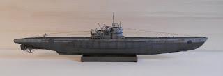 Type VII C/41 revell submarine