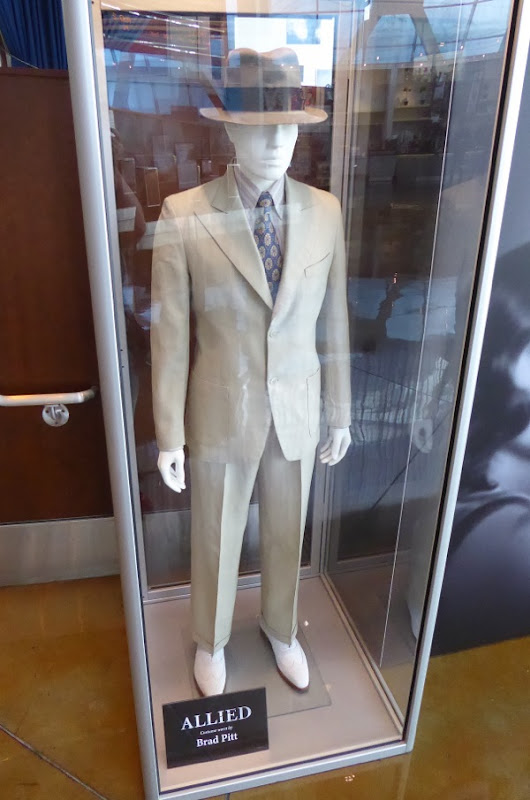 Brad Pitt Allied film costume