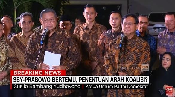 SBY: Cawapres Untuk AHY Bukan Harga Mati