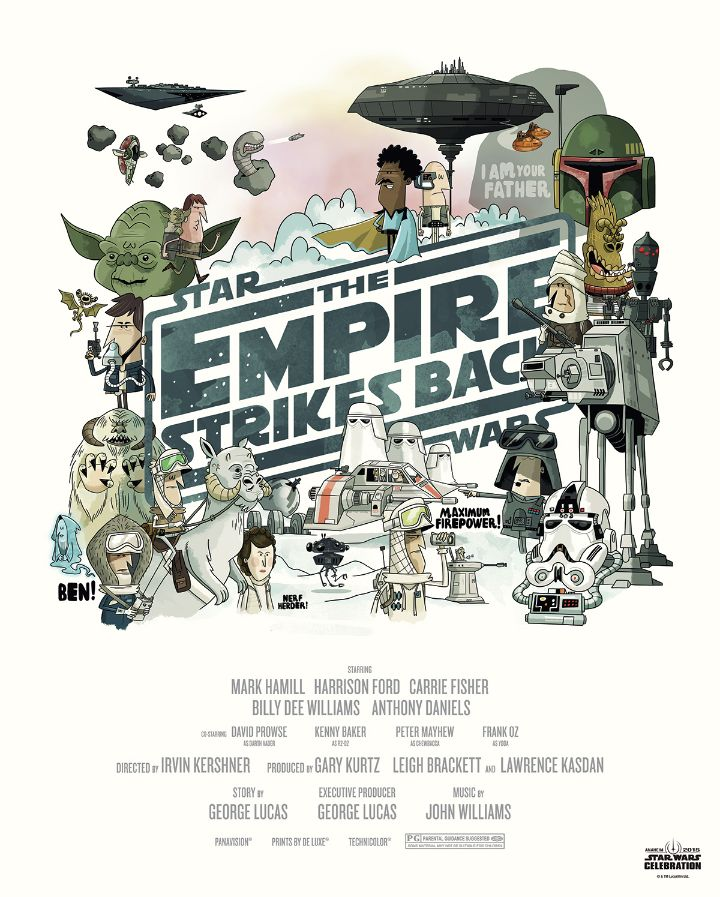 Star Wars - Illustrations - The Empire Strikes Back
