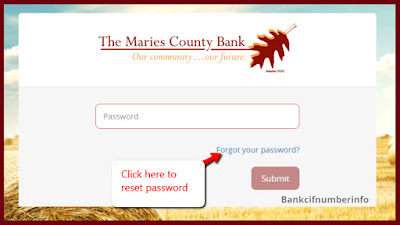 Login with Maries County Bank