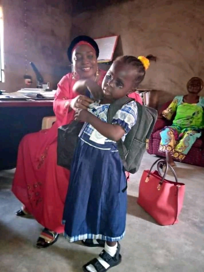A Young Girl Whose Eye's Were Plucked  By Suspected Ritualist In Jalingo Gets Life Scholarship | Taraba News | Jeremy Spell Blog