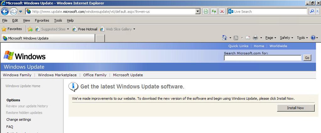 Error number 0x80072eef windows update windows update download location server 2008