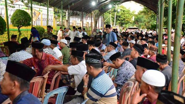 Buka Puasa, Ribuan Masyarakat Padati Rujab Wabup Soppeng