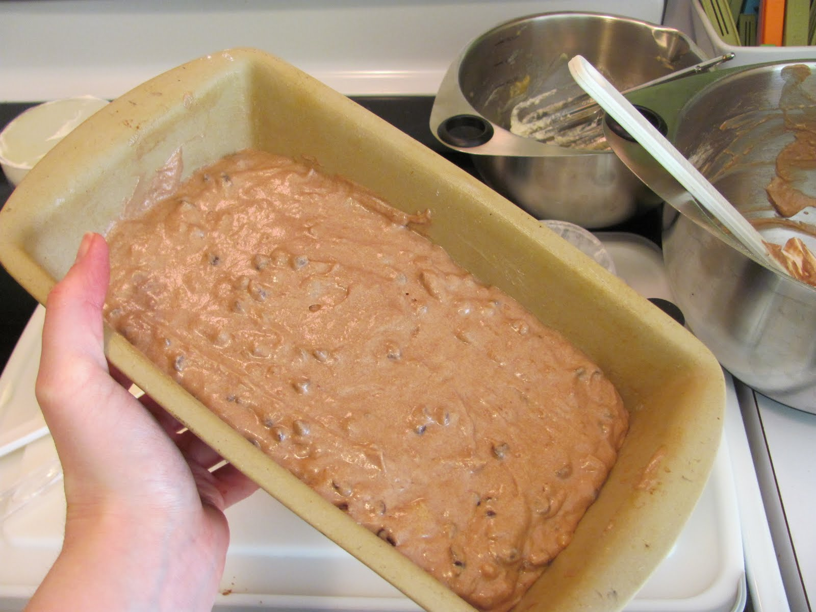 Real Kitchen Real Life Double Chocolate Banana Bread